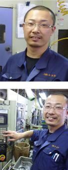 機械オペレーター(入社10年目)